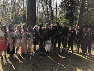 The wedding of Rula  and Christian  3