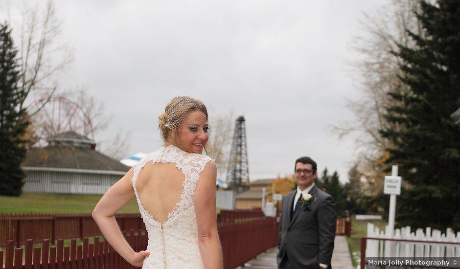 Adam and Dana's wedding in Calgary, Alberta