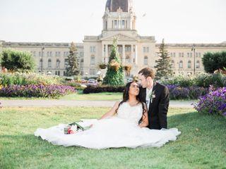 The wedding of Wayne and Karen