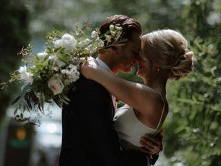 The wedding of Hayley and Rasmus