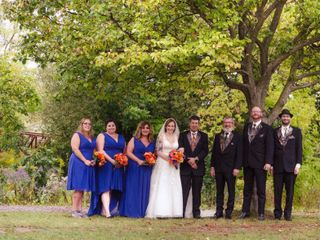 The wedding of Tammy and Tom 1