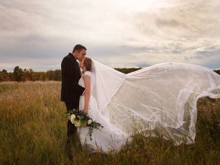 The wedding of Shanea and William