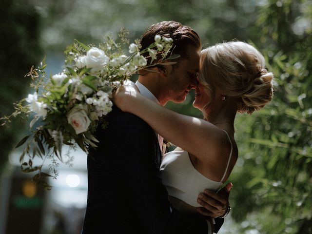 The wedding of Hayley and Rasmus