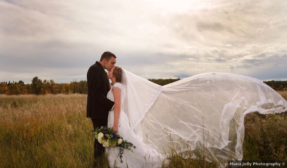 William and Shanea's wedding in Calgary, Alberta
