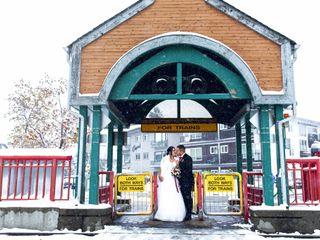 The wedding of Natalia and Eric