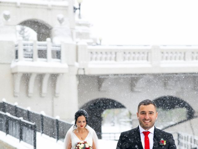 Eric and Natalia's wedding in Calgary, Alberta 1