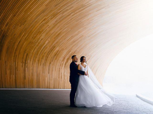 Eric and Natalia's wedding in Calgary, Alberta 15