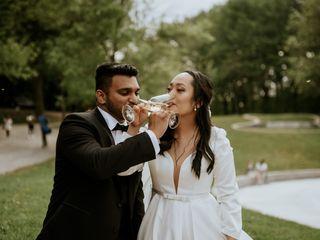 The wedding of Jarin and Hannah