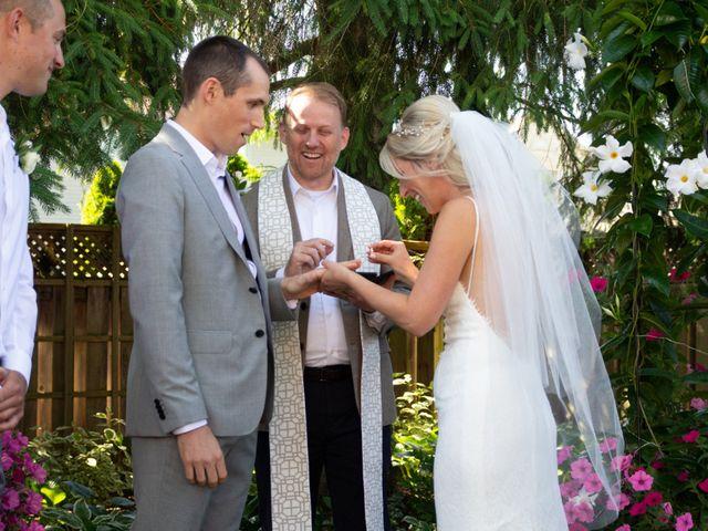 The wedding of Sarah and Rob
