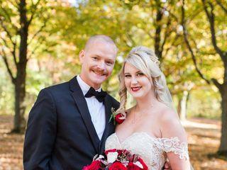 The wedding of Christine and Jesse