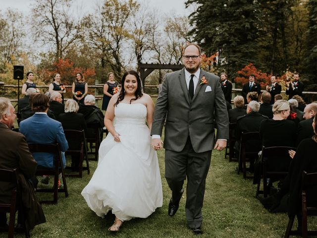 The wedding of Emily and Patrick