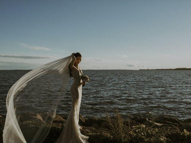 Daniel and Sophie's wedding in Dorval, Quebec 2
