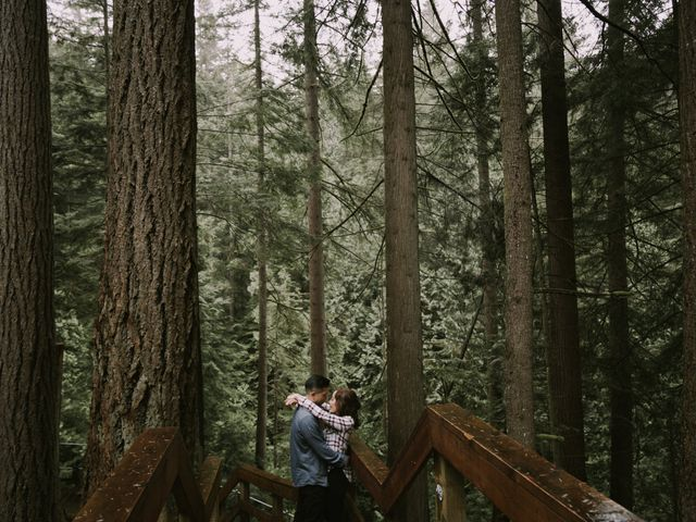 Audrey and Justin's wedding in Vancouver, British Columbia 5