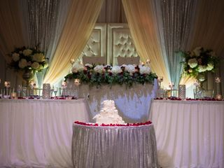 The wedding of Alaina and Mikail 1
