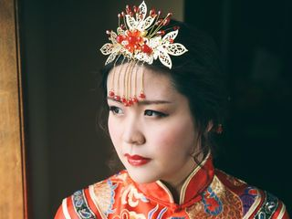 The wedding of Enna and Xie 2