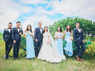 The wedding of Enna and Xie