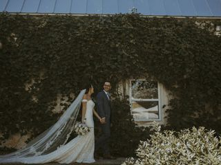 The wedding of Audrey and Jonathan