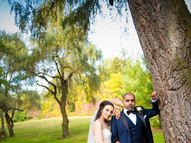 The wedding of Alaina and Mikail