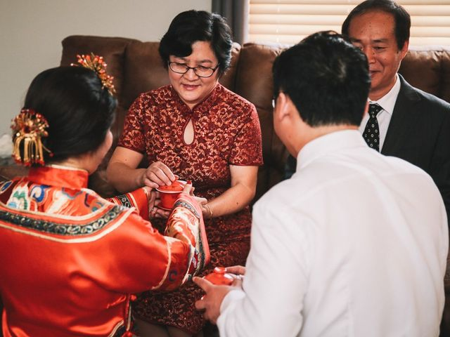 Xie and Enna's wedding in Calgary, Alberta 8