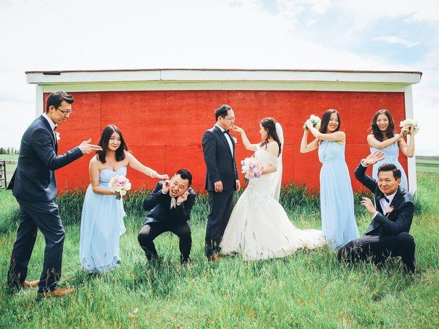 Xie and Enna's wedding in Calgary, Alberta 25