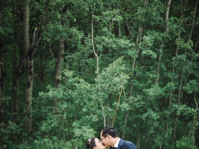 Xie and Enna's wedding in Calgary, Alberta 26