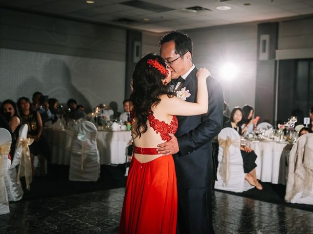 Xie and Enna's wedding in Calgary, Alberta 32