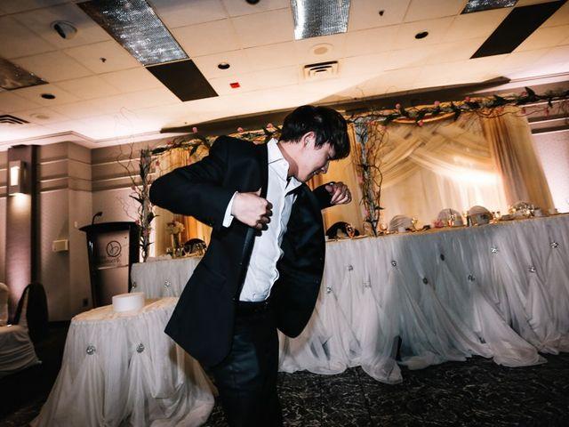 Xie and Enna's wedding in Calgary, Alberta 35