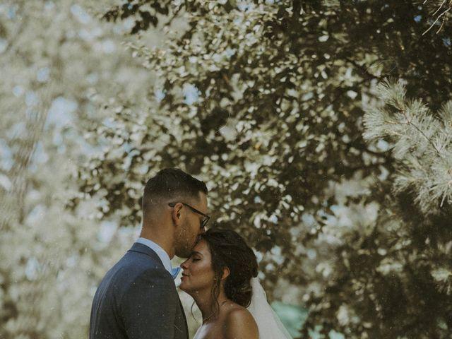 Jonathan and Audrey's wedding in Saint-Charles-sur-Richelieu, Quebec 1