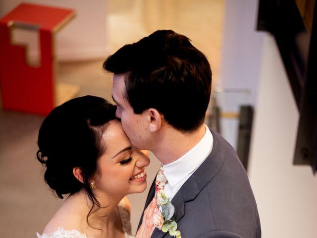 The wedding of Allison and Joel