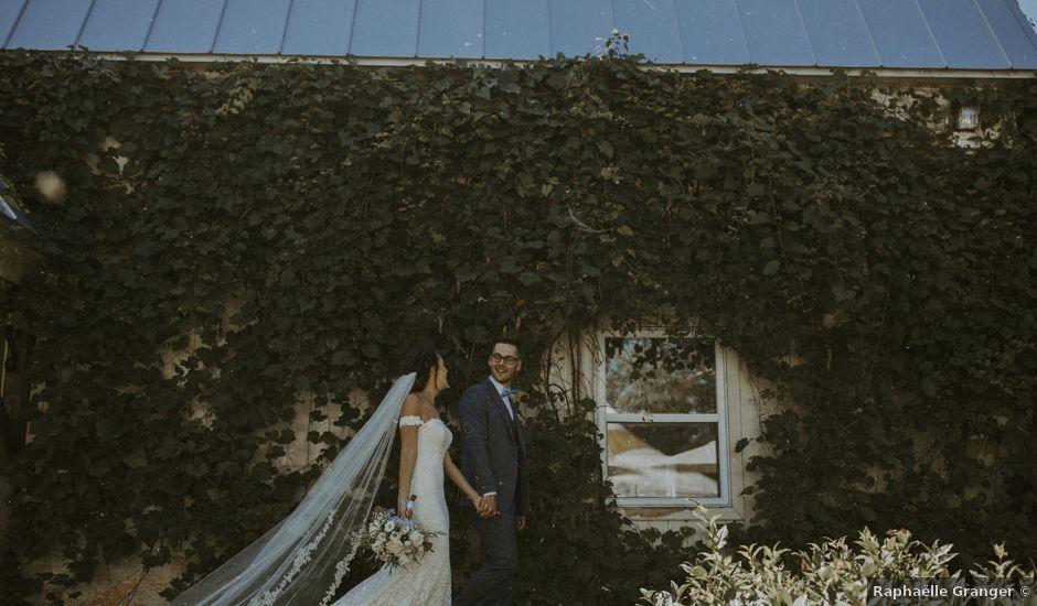 Jonathan and Audrey's wedding in Saint-Charles-sur-Richelieu, Quebec