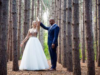 The wedding of Allison and Corwin
