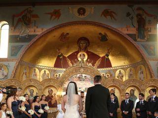 The wedding of Eleni and Nem 1