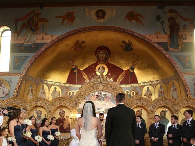 The wedding of Eleni and Nem