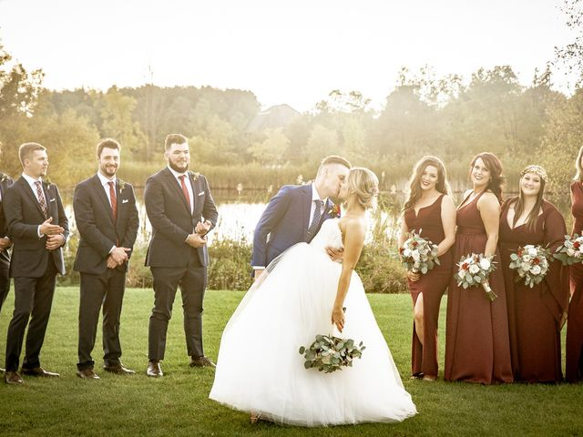The wedding of Jesse and Danette