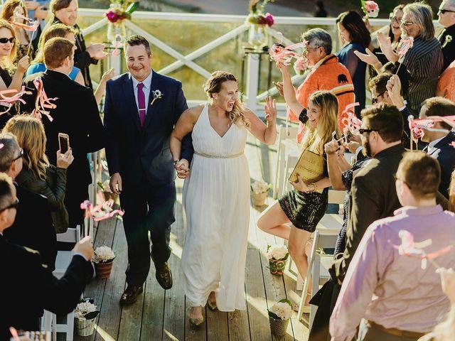The wedding of Erin and Jordan