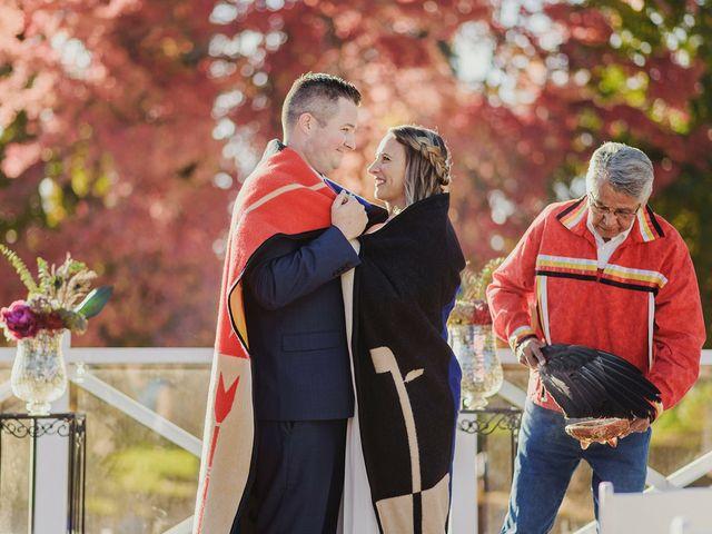 Jordan and Erin's wedding in Vancouver, British Columbia 6