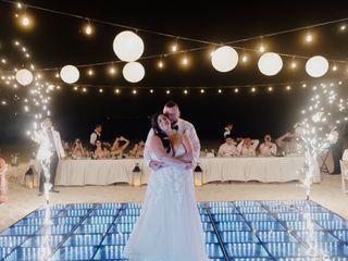 The wedding of Francesca and José