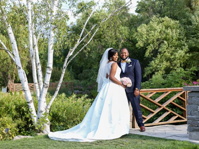 The wedding of Brittney and Michael