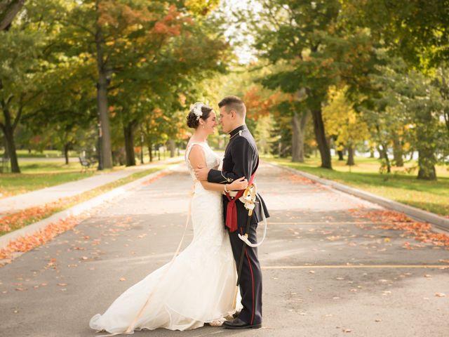 The wedding of Amanda and Fredrick