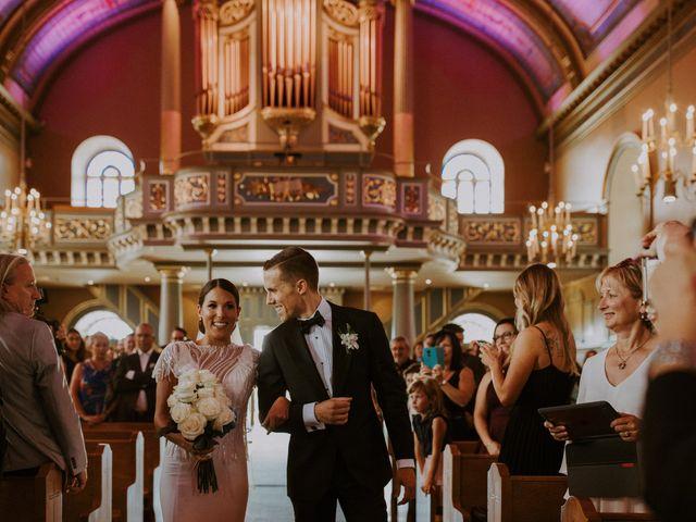 Alexandre and Catherine's wedding in La Prairie, Quebec 25