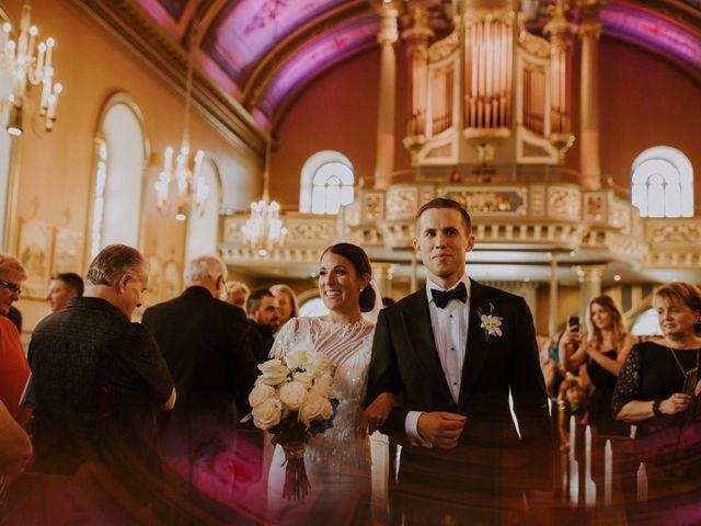 Alexandre and Catherine's wedding in La Prairie, Quebec 26