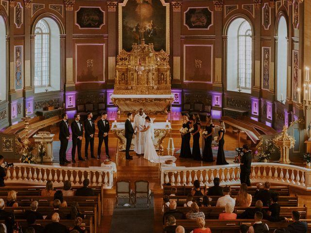 Alexandre and Catherine's wedding in La Prairie, Quebec 31