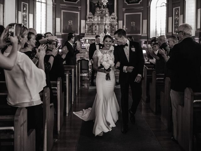 Alexandre and Catherine's wedding in La Prairie, Quebec 37