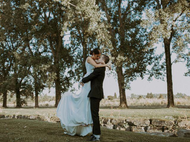 Alexandre and Catherine's wedding in La Prairie, Quebec 48