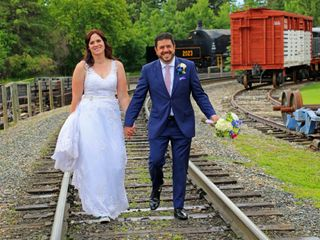The wedding of Tobi and Pano