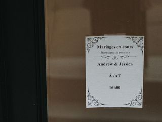 The wedding of Jennifer and Andrew 1