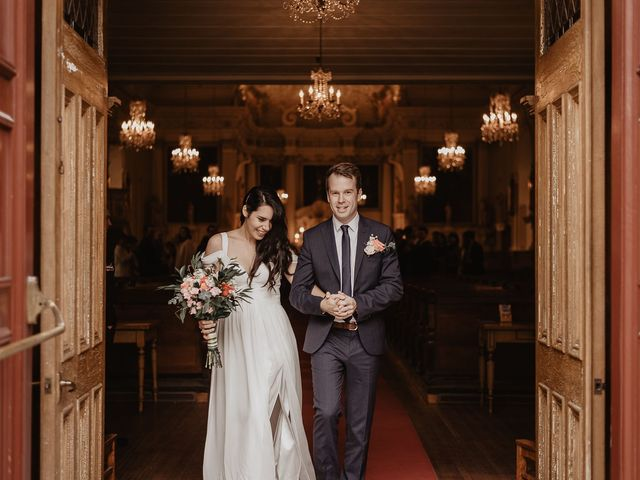 The wedding of Marie and Olivier