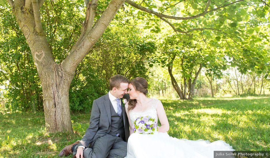 Ryan and Sarah's wedding in Cambridge, Ontario