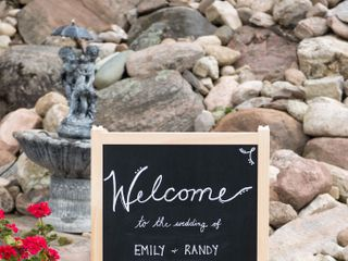 The wedding of Emily and Randy 1