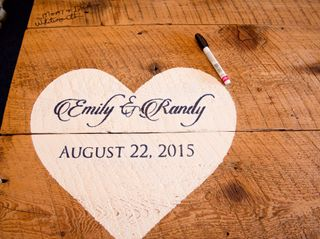 The wedding of Emily and Randy 3